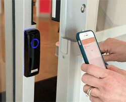Mobile Readers from SimpleAccess provide hands-free building access